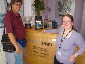 15 - RPA e Emma Thomson a BBC R. Jersey